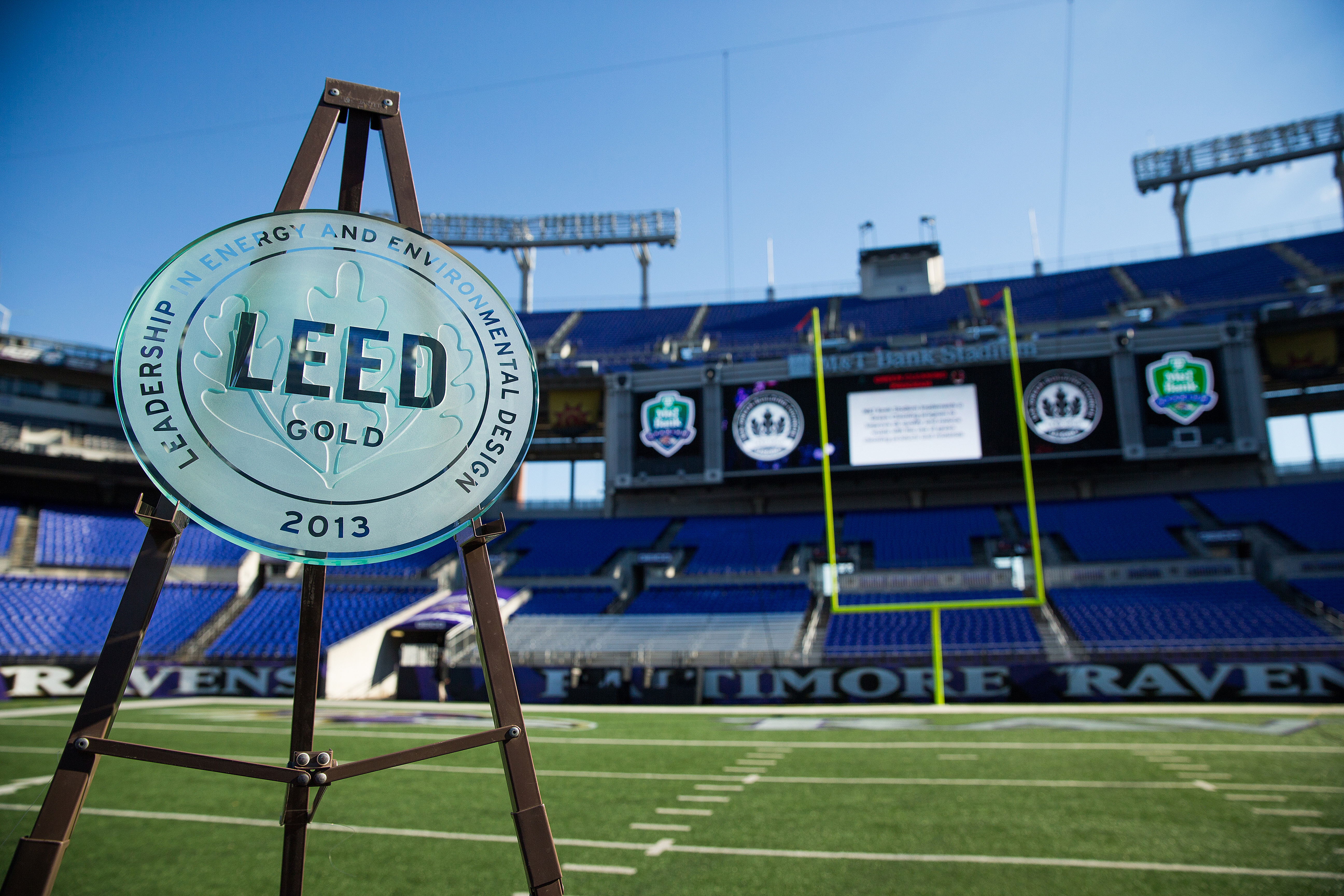 M&T Bank Stadium is LEED certified