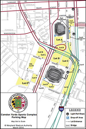 Directions and Parking | Maryland Stadium Authority on