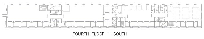 4th Floor- South Warehouse
