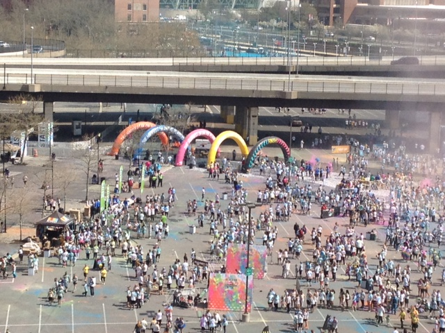 Color Run 5K on Camden Yards Sports Complex